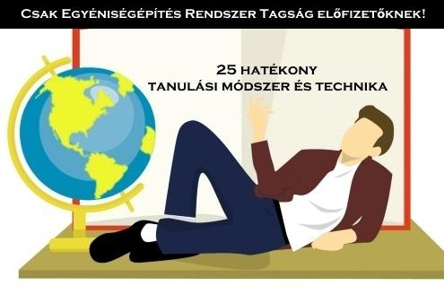 25 hatékony tanulási módszer és technika