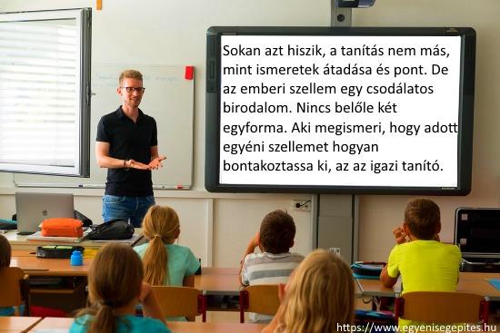 Az igazi tanítás