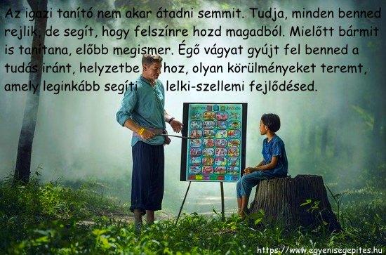 Az igazi tanító