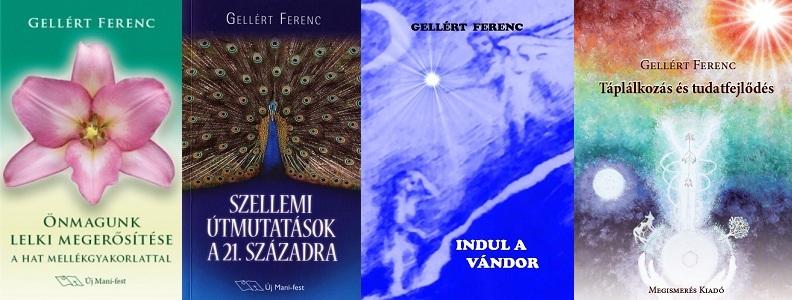 Gellért Ferenc könyvei