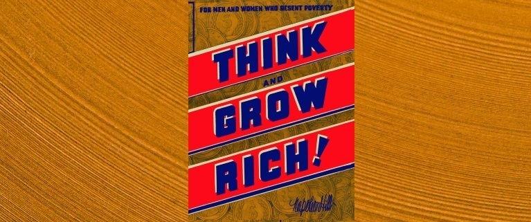 Napoleon Hill Gondolkozz és gazdagodj könyv