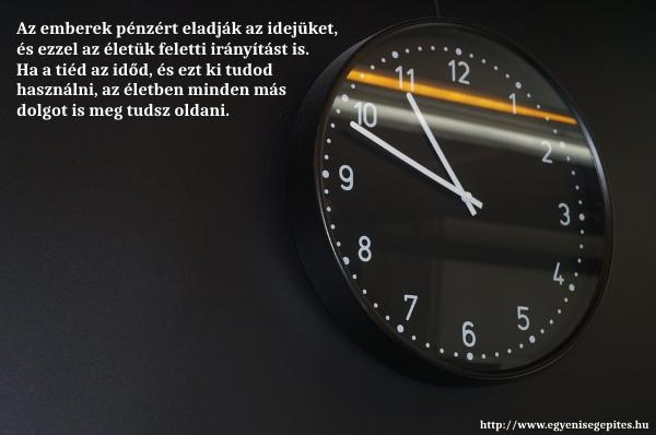 Ha tiéd az időd