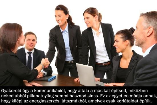 Kommunikáció fejlesztése, az építő kapcsolatteremtés
