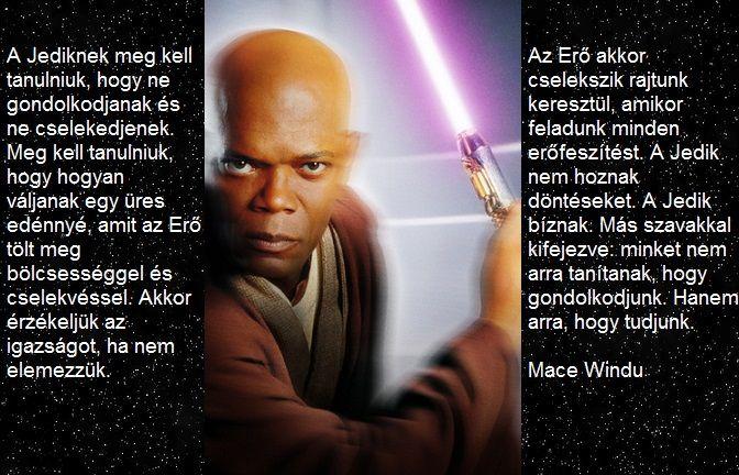 Mace Windu mondása